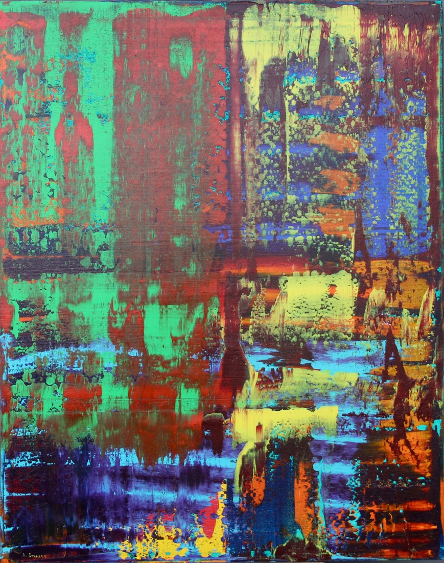 Abstract #7 by Aaron Stanley