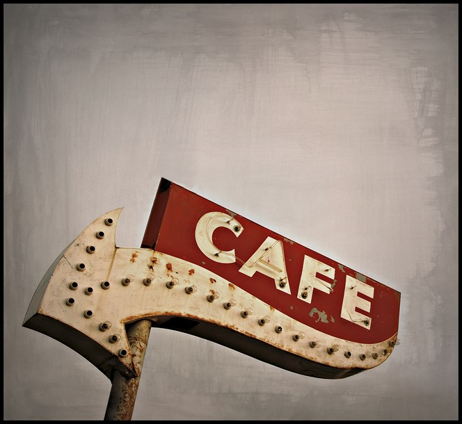 Cafe by Thomas Gillaspy